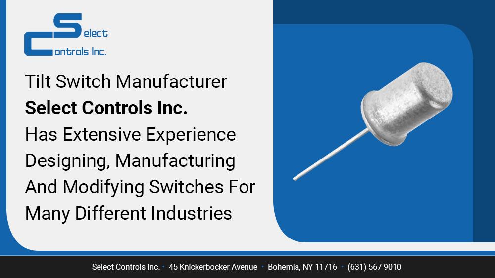 Purchase Tilt-Switch-Manufacturer